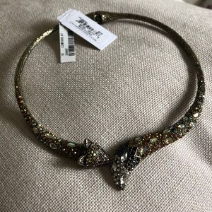 BETSEY JOHNSON FOX CHOKER